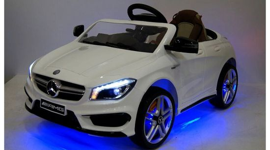 Электромобиль RiverToys Mercedes-Benz CLA45 A777AA Цвет: Белый